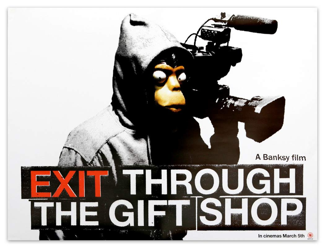 an analysis of thierry guetta the subject of banksy in exit through the gift shop a film by banksy Exit through the gift shop marks the feature-film debut of notorious street artist banksy the documentary's focus is french-born la thrift-shop owner thierry guetta, whose apparent compulsion to videotape every moment of his life led him to document the phenomenon of contemporary street art.